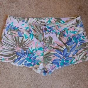 Victoria's Secret floral colorful boyfriend short